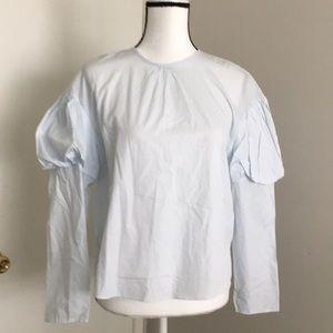 Zara | Ballon sleeves pretty blouse
